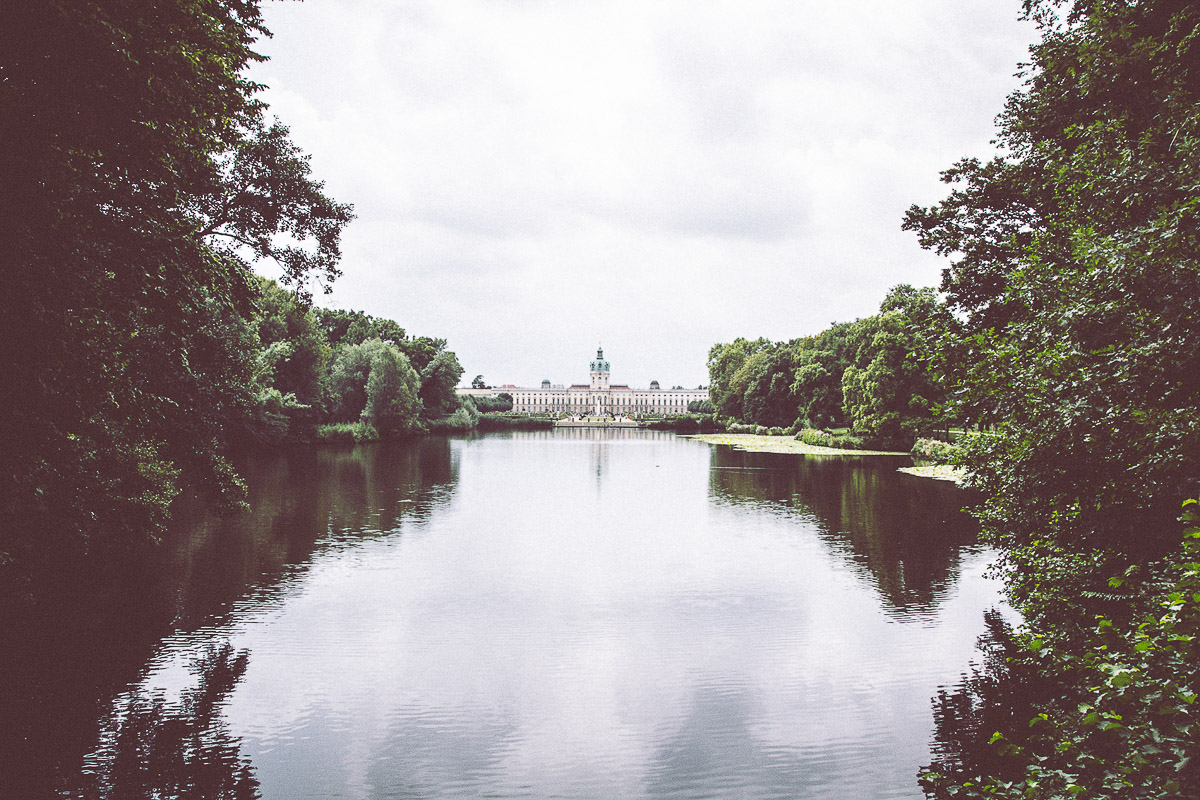 A photo of the Charlottenburg Palace in Berlin